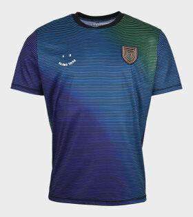 Striped Football T-shirt Multicolor