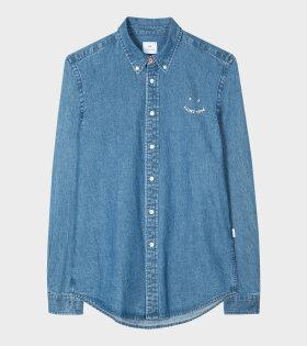 Paul Smith - PS Happy Shirt Blue
