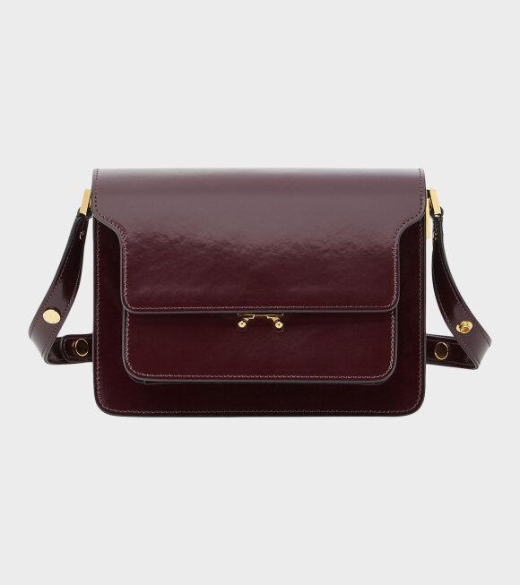 Marni - Medium Trunk Bag Bordeaux