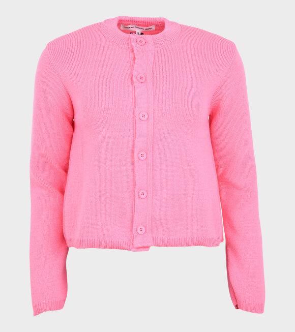 Comme des Garcons Girl - Cardigan Pink