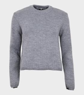 Knit Pullover Grey
