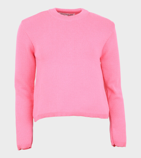 Comme des Garcons Girl - Knit Pullover Pink