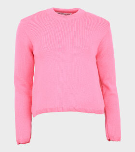 Knit Pullover Pink