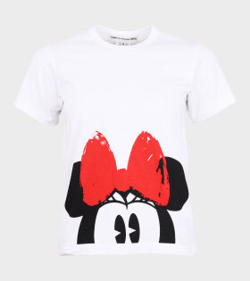 Minnie Mouse 3 T-shirt White/Red