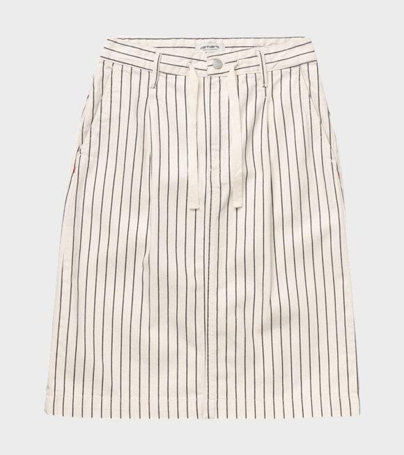 Carhartt WIP - W Trade Skirt Hickory Stripe Wax/Black