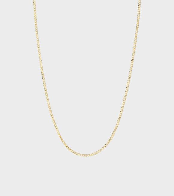 Maria Black - Saffi Necklace 43 Gold