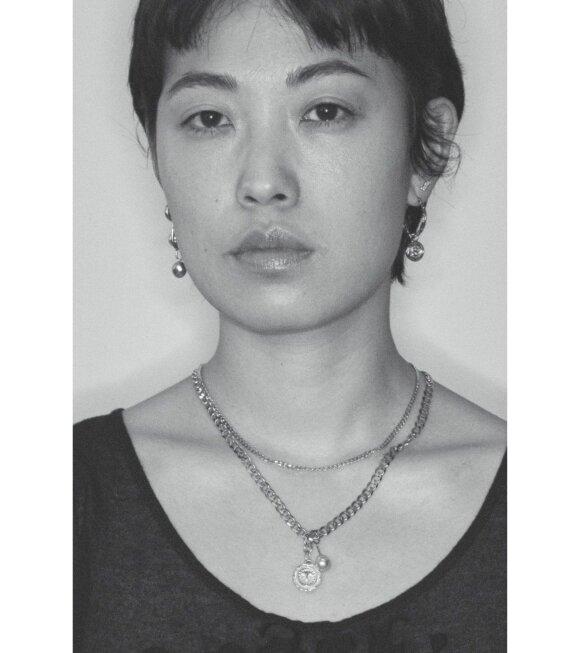 Maria Black - Saffi Necklace 50 Silver