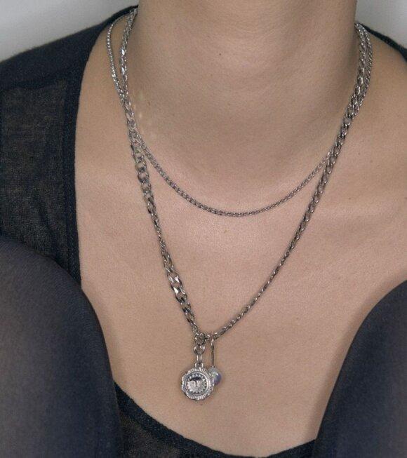 Maria Black - Saffi Necklace 43 Silver