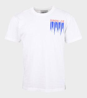 Burning Love T-Shirt White