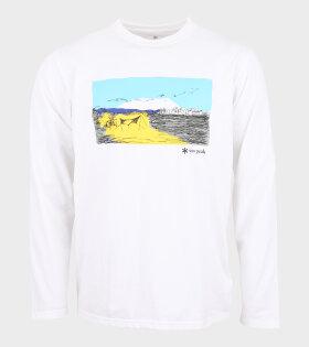 Campfield L/S T-Shirt White