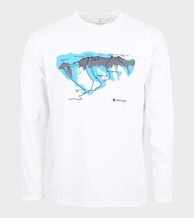 Tanigawa L/S T-shirt White