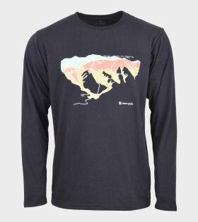 Tanigawa L/S T-shirt Black