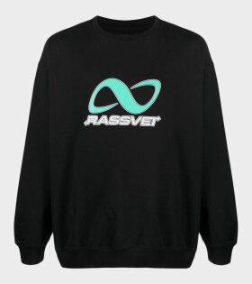 Printed Sweatshirt Black/Green
