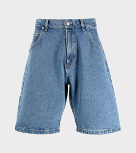 Denim Baggy Shorts Blue