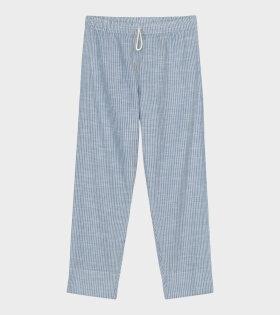 Aiayu - Lilja Pant Striped Indigo