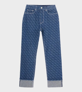 Burberry - Marissa Logo Jeans Blue