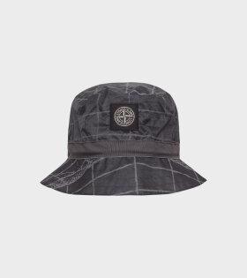 Reflective Bucket Hat Grey