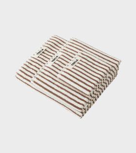 Hand Towel 50x90 Kodiak Stripes