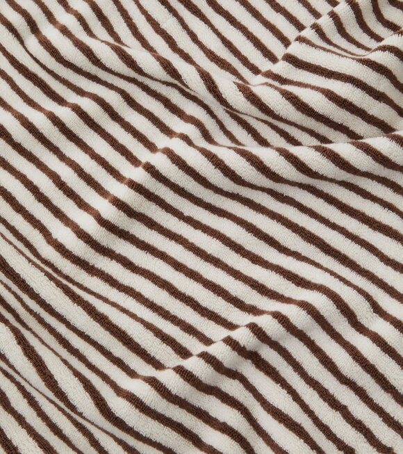 Tekla - Hand Towel 50x90 Kodiak Stripes