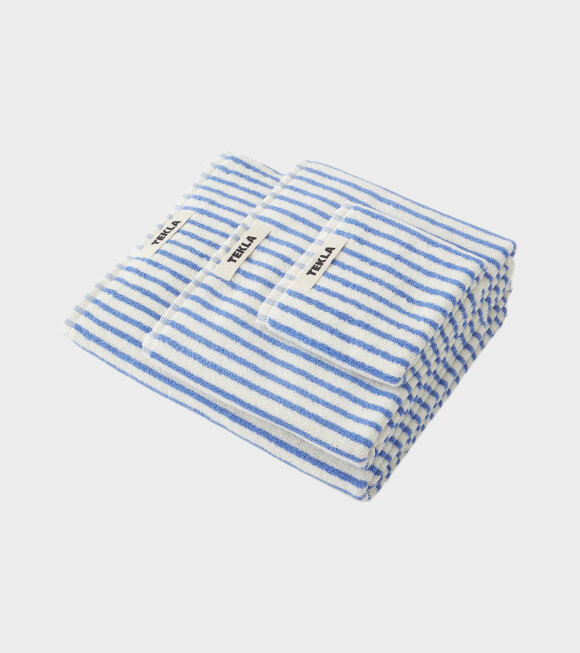 Tekla - Hand Towel 50x90 Coastal Stripes
