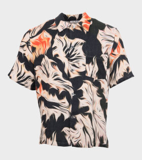 Box Shirt S/S Platigyra Print Multi