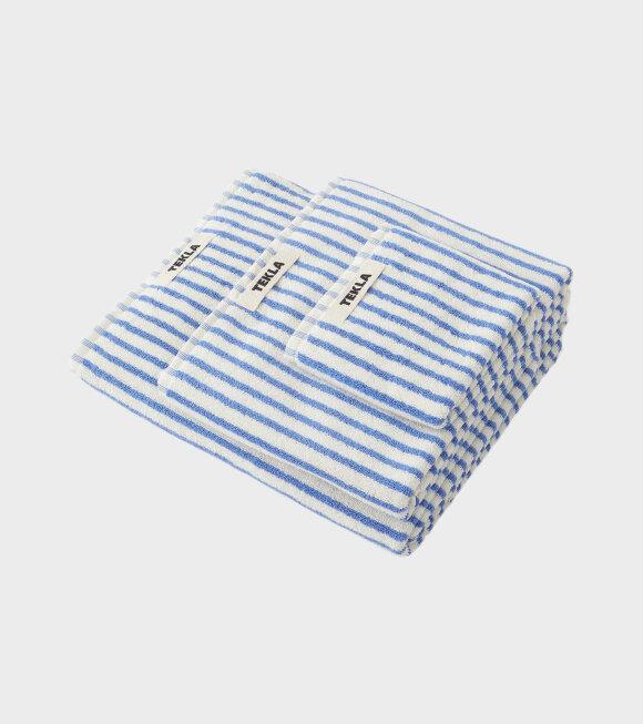 Tekla - Bath Towel 70x140 Coastal Stripes