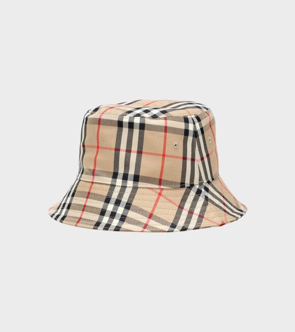 Burberry - Panel Bucket Hat Beige
