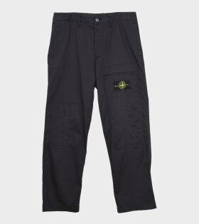Patch Pants Black