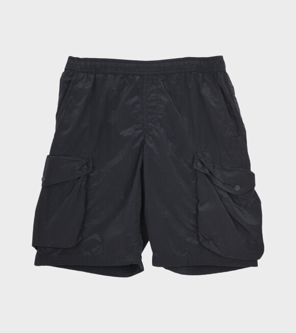 Stone Island - Pocket Swim Shorts Black