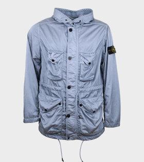 Nylon Raso-TC Jacket Blue