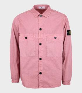 Overshirt Patch Jacket Pink
