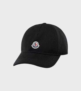 Berretto Baseball Cap Black