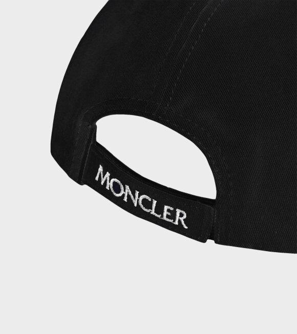 Moncler - Berretto Baseball Cap Black