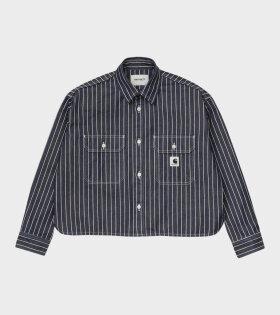 W L/S Trade Shirt Navy