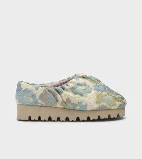 Nawa Camp Shoe Jacquard Blue
