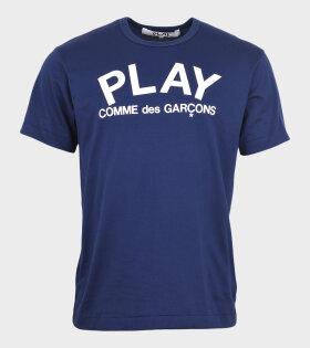 M Play CDG T-shirt Navy