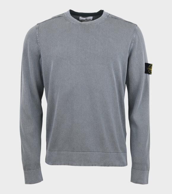 Stone Island - Patch Crewneck Knit Grey