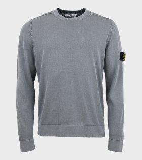 Stone Island Patch Crewneck Knit Grey