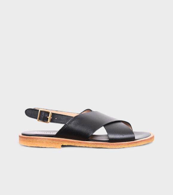 Angulus - Crossover Sandals Black