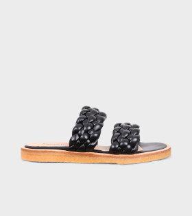 Braided Sandals Black