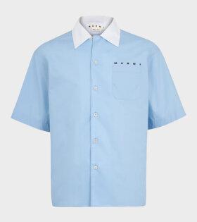 S/S Shirt Blue/White