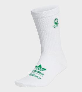 Adidas  - Kermit Sock 1PP White/Green