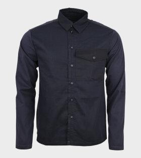 Leftover Plain Shirt Navy