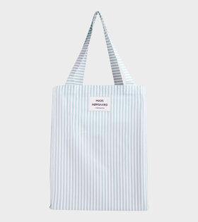 Mads Nørgaard  - Sacky Atoma Bag White Alyssum/Aqua