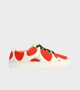 Drutha Mansikka Strawberries White/Red