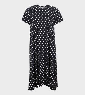 Comme des Garcons - Polka Dots SS Dress Black