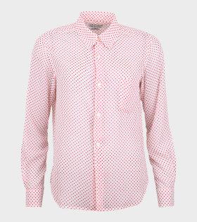 Comme des Garcons - Polka Dots Shirt White