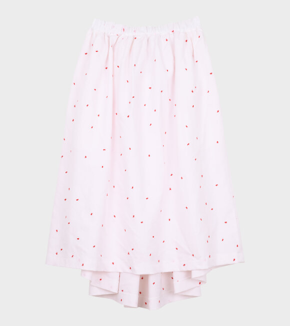 Comme des Garcons Girl - Stitch Skirt White