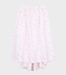 Stitch Skirt White