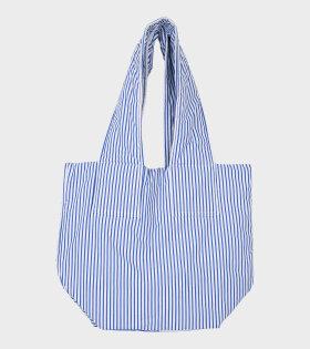 Junko Bag Stripe White/Blue